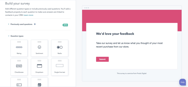 Custom Surveys 2