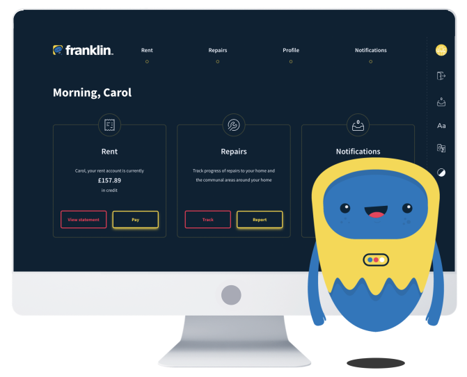Franklin - an SaaS self service portal
