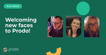 Say hello to some fresh faces on the Prodo team! 👋