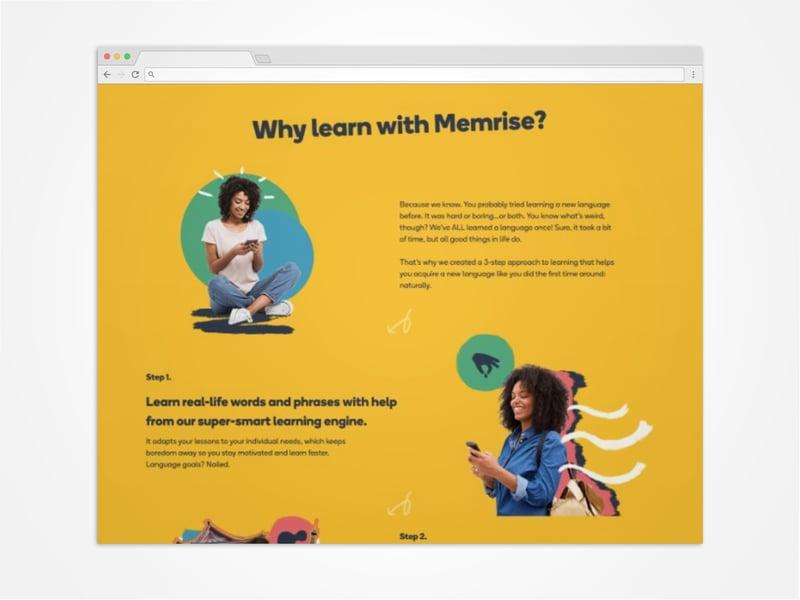 Memrise website launch