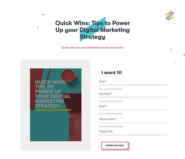 Quick Wins Tips to power up you digital marketing strategy - Google Chrome