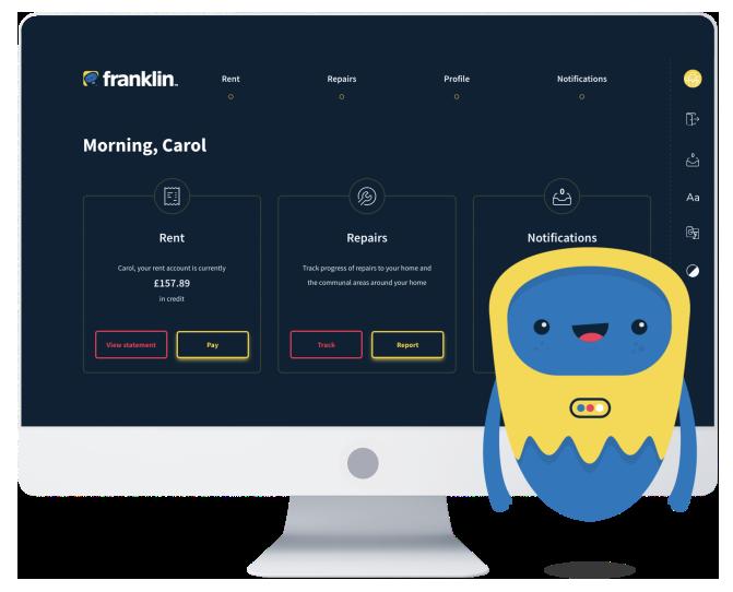 Franklin SaaS Self Service Portal
