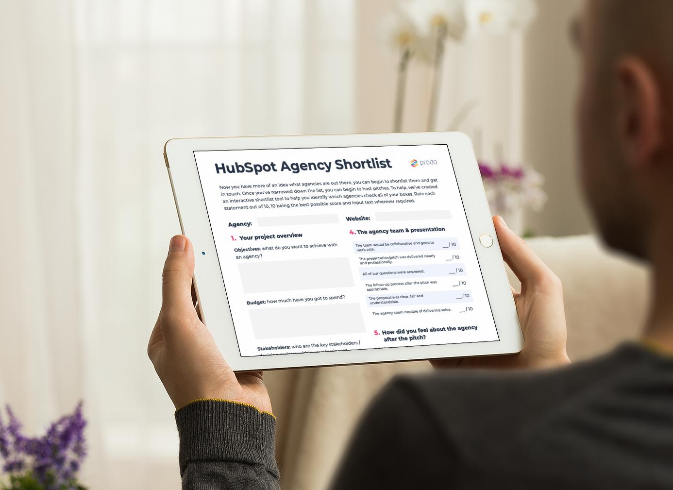 HubSpot Agency Shortlist