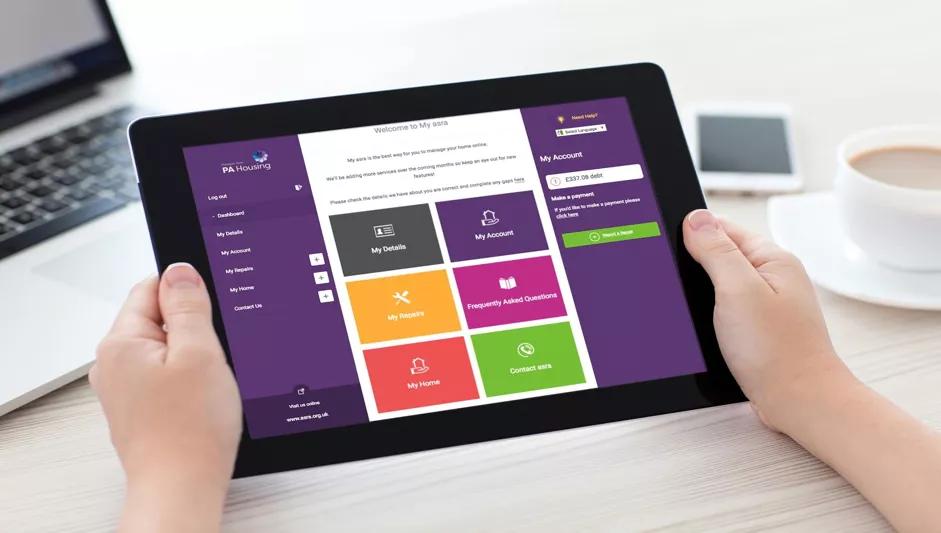 PA Housing - Self-service Portal