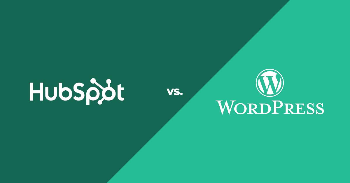 HubSpot vs WordPress