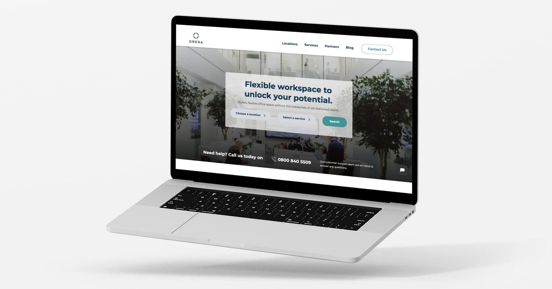 New HubSpot Website to Power Orega's Rebrand