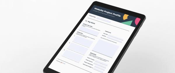 Website Project Profile Template