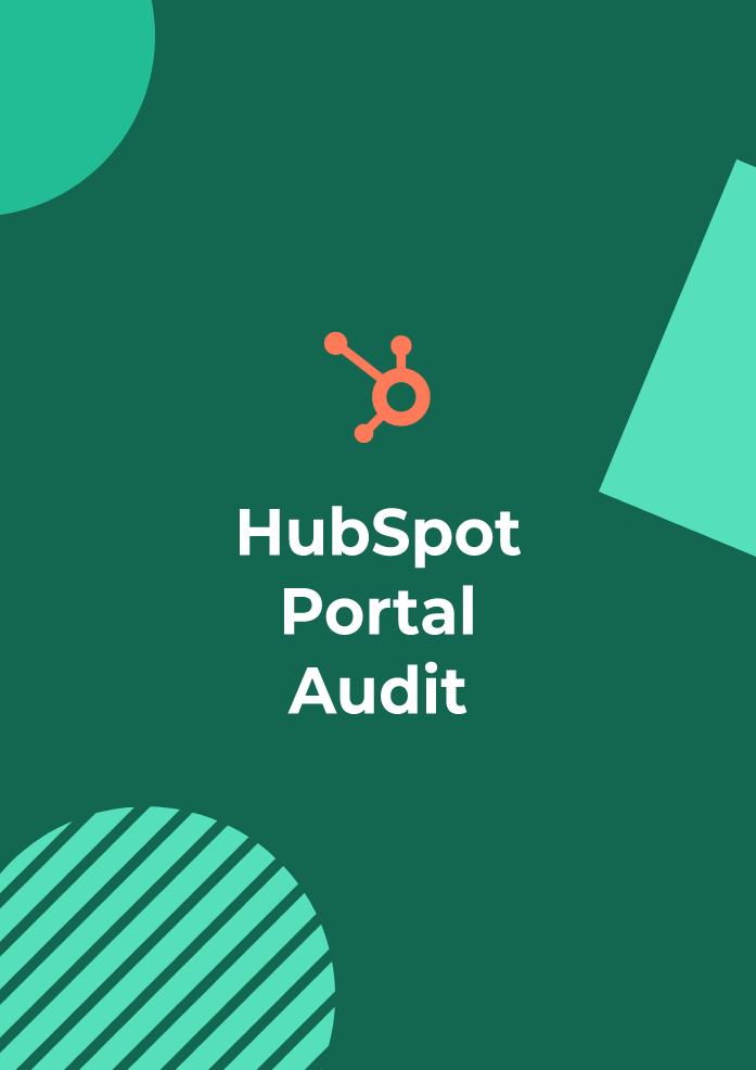 HubSpot Portal Audit Cover